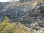 The caves of Ajanta and Ellora