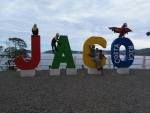 At the entrance to Jaco